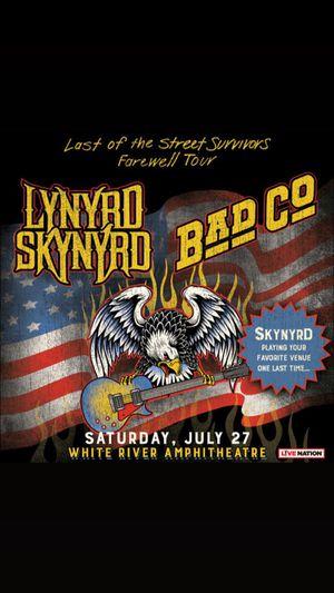 Lynyrd Skynyrd Farewell tour for Sale in Elma, WA