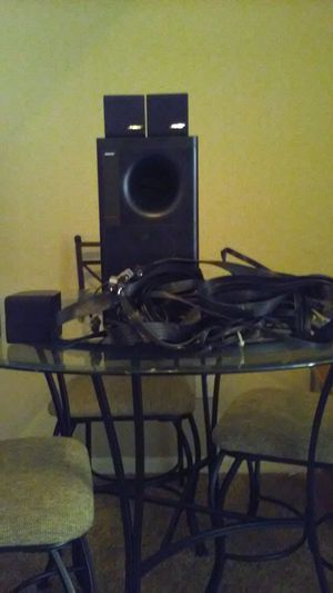 Bose Acoustimass 6 home theater speaker system. for Sale in CORP CHRISTI, TX