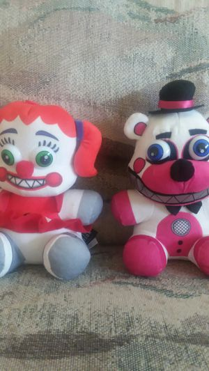 Fnaf sister location plushies for Sale in Boyds, MD