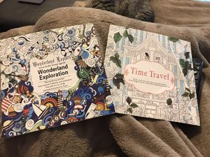 2 coloring books art NEW unused for Sale in Fresno, CA