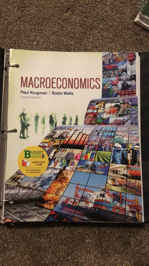 Macroeconomics Textbook for Sale in Portland, OR