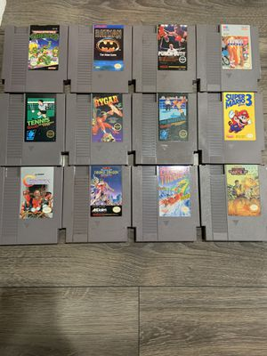 Nintendo game lot for Sale in Piedmont, CA