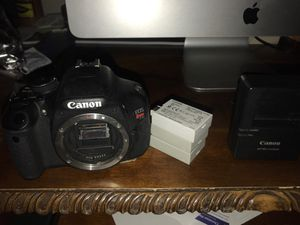 Canon Rebel T3i (hardly used) for Sale in Henderson, NV