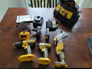 Dewalt Drill, Impact Driver, and Multi-Tool for Sale in Durham, NC