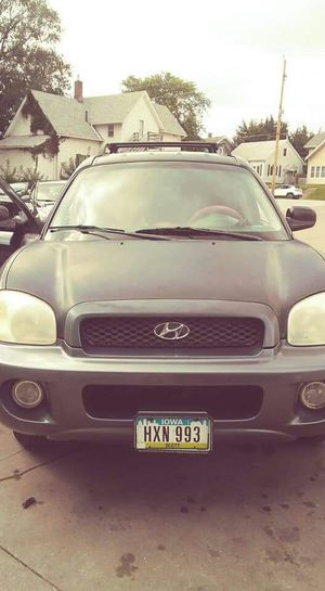 2004 Hyundai Santa fe for Sale in Davenport, IA