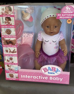 Baby Born Interactive Doll for Sale in Glendora, CA