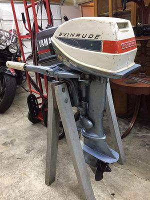 6 hp Evinrude Fisherman Outboard Kicker boat motor for Sale in Ocean Shores, WA