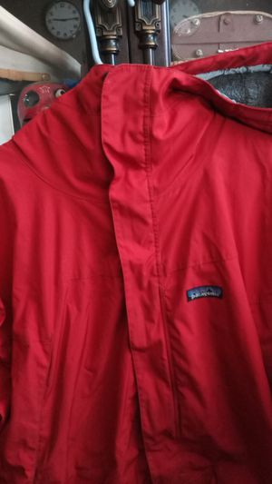 Patagonia large winter jacket for Sale in Huntington Beach, CA