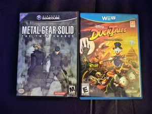 DuckTales & MGS Twin Snakes Combo for Sale in Los Angeles, CA