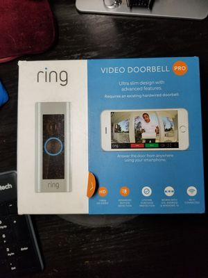 RING VIDEO DOORBELL PRO (wired) for Sale in Los Angeles, CA