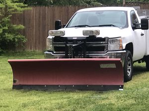 I have 2012 Chevy Silverado duramax snow plow end salt spreader I asking 13,500 Or best offer the truck is in good condition for Sale in Waldorf, MD