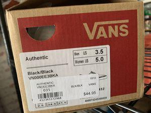 Black vans for Sale in Lodi, CA