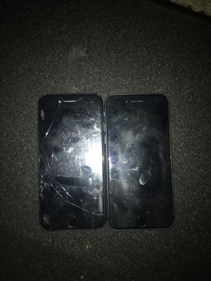 iPhone 8 I cloud lock selling both for 50 left one is just cracked but still works for Sale in Los Angeles, CA