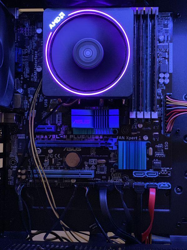 ASUS M5A78L M- PLUS/USB 3 with AMD FX 8350 8 core processor Build