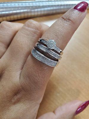 Diamond 💎 wedding rings for Sale in Marietta, GA