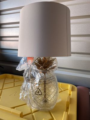 Pineapple Glass table lamp for Sale in Bakersfield, CA