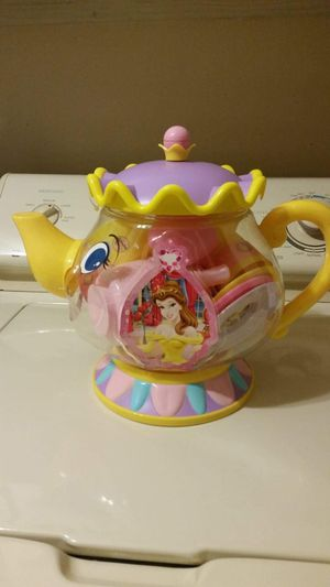 Beauty and the Beast Belle teapot set still sealed for Sale in Largo, FL