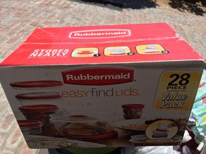 Rubbermaid Food Storage Containers for Sale in San Diego, CA