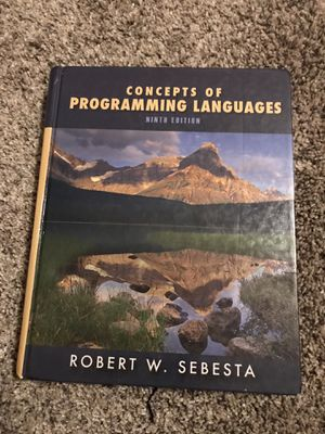 Concepts of Programming Languages Ninth Edition by Robert Sebesta for Sale in San Diego, CA