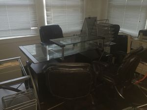 Executive Desk Set with Bookcase, Like New for Sale in Fresno, CA
