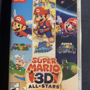 Super Mario 3D All stars Nintendo Switch for Sale in Litchfield Park, AZ