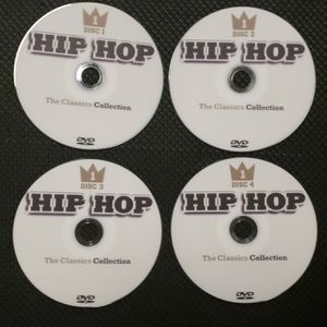 Hip Hop Classics Music Videos Collection Vol 1 (4 DVD's) for Sale in Riverside, CA
