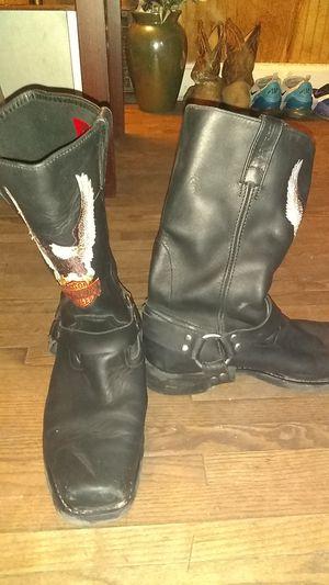 Men's Harley Davidson boots for Sale in Terre Haute, IN