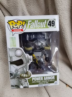 Fallout Funko POP Vinyl Figure Power Armor for Sale in Queen Creek, AZ