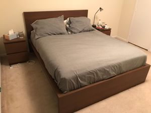 Bed frame queen size for Sale in University, VA