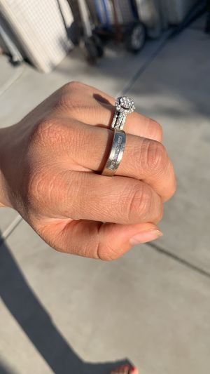 His and her wedding rings for Sale in Manteca, CA