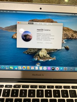MacBook Air 2015 11 inch 128 gb 4 gb ram check all the pics for Sale in Bothell, WA