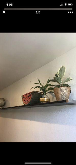 Ikea hanging shelf black wall shelf for Sale in Los Angeles, CA