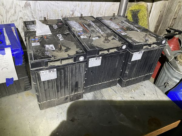 Still good used car Batteries 3 heavy truck batterys 50 bucks each