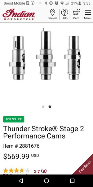 Thunderstroke stage 2 performance cams for Sale in El Cajon, CA