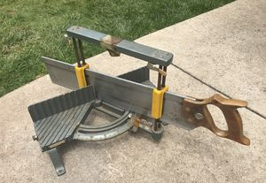 Vintage Craftsman Miter Box and Cromedge Saw 36186 for Sale in Blue Bell, PA