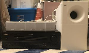Bose Acoustimass & Yamaha Home Theater System for Sale in Portland, OR