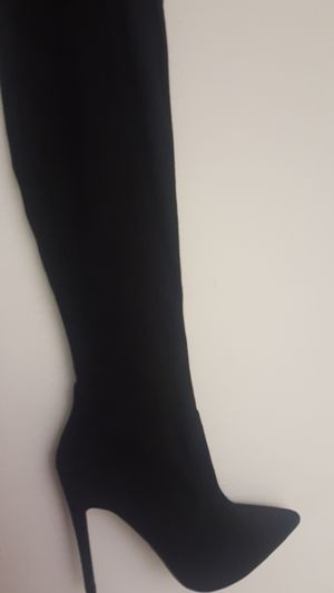 black thigh high boots for Sale in Tampa, FL