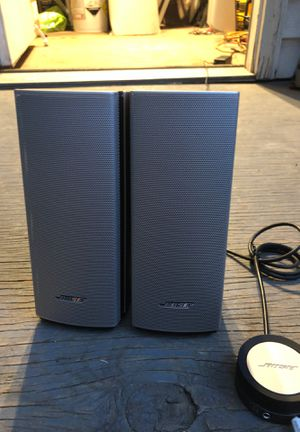 PAIR BOSE SPEAKERS for Sale in Silver Spring, MD