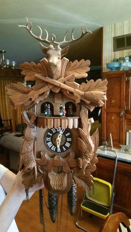 Antique vintage Cuckoo Clock