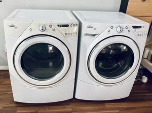 Whirlpool HE Washer and Gas Dryer for Sale in Huntington Beach, CA