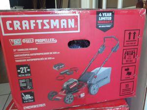 Craftman 60v self propelled lawn mower for Sale in San Antonio, TX