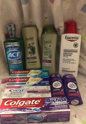 10 piece hygiene products lot for Sale in Mukilteo, WA