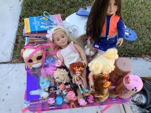 Lol dolls, toys and books for Sale in Lake Worth, FL