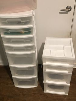 Plastic Storage Drawers Etc for Sale in The Colony,  TX
