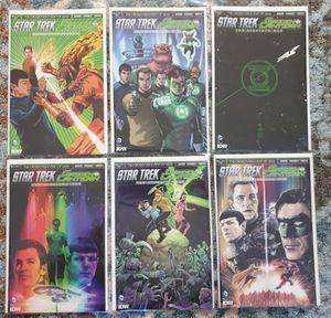DC COMICS x 6. FULL SERIES: STAR TREK / GREEN LANTERN: THE SPECTRUM WAR. #1 - #6. 2015. NEW for Sale in Las Vegas, NV