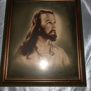 Jesus Christ Framed Picture for Sale in Clearwater, FL
