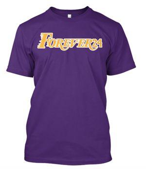 Kobe Bryant Forever 24 logo T Shirt Los Angeles Lakers for Sale in La Habra, CA