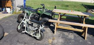 460 motor on 4 wheeler 24 hp motor on mini bike very fast both are have lots of up grades for Sale in Cleveland, OH