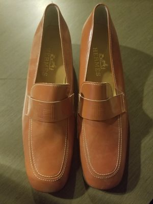 Caramel colored Hermes Women's Leather Loafers for Sale in Phoenix, AZ