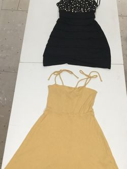 S Yellow And Black Dress for Sale in Leesburg,  VA